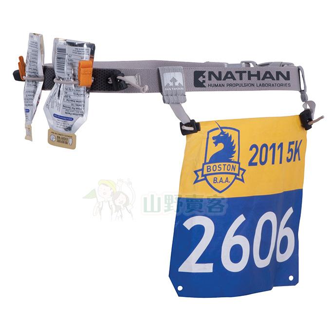 美國NATHAN 號碼補給帶-穿式 NA1126NG-N 號碼布夾 長跑 自行車 三鐵 馬拉松